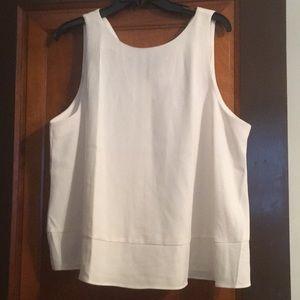 NWT Ann Taylor blouse - creamy white - XL